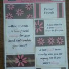 AMM Studio Collection Stickers Best Friend Shayna Vellum Accents 2004