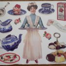 John Grossman Stickers Time for Tea Antique Images SPTT