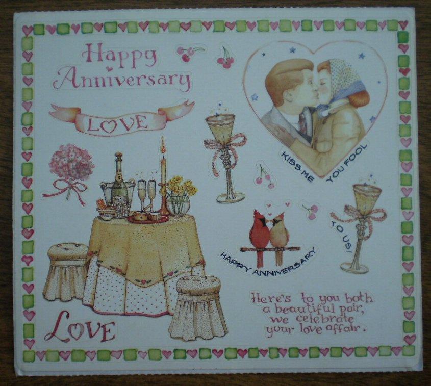 Susan Branch Stickers Anniversary 12703 Art Impressions