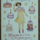 Susan Branch Stickers Birthday Girl 13253 Art Impressions