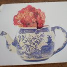 Anne Geddes Stickers Teapot Flowers Gifted 2000 8479R