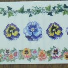 Personal Stamp Exchange Stickers Pansy Frames Borders SR1209 PSX