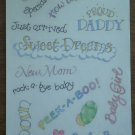 Baby Sayings Stickers Me and My Big Ideas STR04 1999