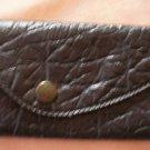 Hub Buick Company Houston Key Holder Keyholder Ring Leatherette Vintage