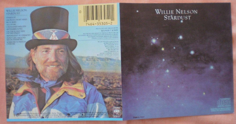 Insert Cover for Willie Nelson Stardust No CD