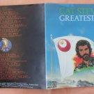 Insert Cover for Cat Stevens Greatest Hits No CD