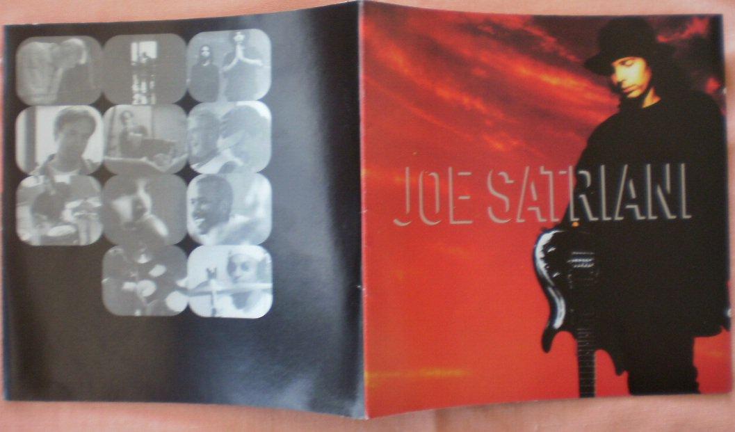 Insert Cover for Joe Satriani  Foldout No CD