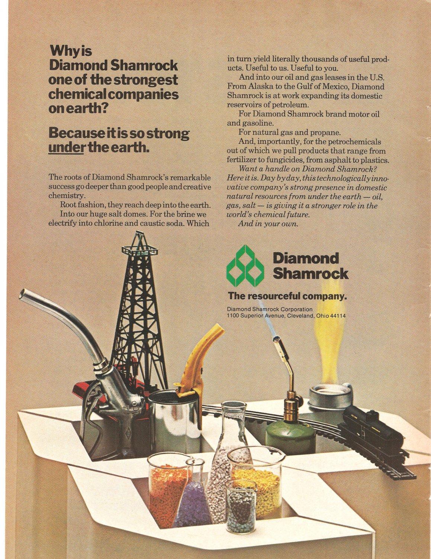 Vintage Ad Diamond Shamrock Chemical Company 1978