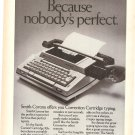Vintage Ad Smith Corona Typewriter Correction Cartridge 1978
