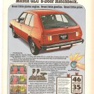Vintage Ad Mazda GLC 5-Door Hatchback 1978