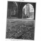 New Jersey Princeton University Newark Plate Print 1936 Book