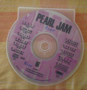 Pearl Jam Ten Audio CD Epic 1991 Missing Insert
