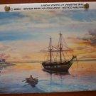 Vintage Photo Album Bob Eding Pilgrim At Dana Point Watercolor 1988 BJ Photo Express
