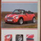 Mini Cooper Convertible Birthday Card British Red Cross Blossoms & Bows