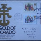 Gold of El Dorado Commemorative Cover FDC 1978 Christmas Royal Academy of Arts London