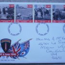 D-Day 6 June 1944 Royal Mail First Day Cover FDC Stamps