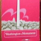 Vintage Matchbook Washington Monument DC Matches