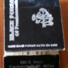 Vintage Matchbook Black Forest Frankenmuth MI Restaurant Matches