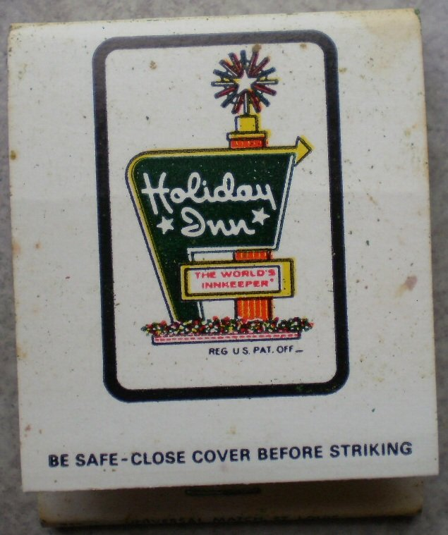 Vintage Matchbook Holiday Inn Tomah Wisconsin Matches
