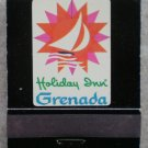 Vintage Matchbook Holiday Inn Grenada St Lucia Matches