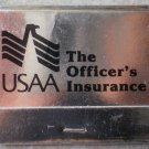 Vintage Matchbook USAA Officers Insurance San Antonio Texas Matches