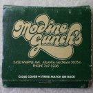 Vintage Matchbook Modine Gunch Atlanta Georgia Matches