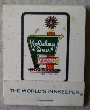 Vintage Matchbook Holiday Inn De Kalb Illinois Matches
