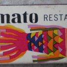 Vintage Matchbook Yamato Restaurants California Matches Matchbox