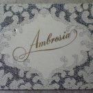 Vintage Matchbook Ambrosia Newport Beach California Matches Matchbox