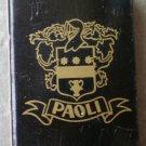 Vintage Matchbook Paoli San Francisco California Matches Matchbox