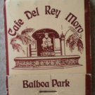 Vintage Matchbook Cafe Del Rey Moro Balboa Park California Matches