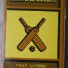 Vintage Matchbook Thomas Lord Restaurant Universal City San Francisco Matches Matchbox