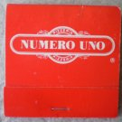 Vintage Matchbook Numero Uno Pizzeria California Matches