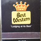 Vintage Matchbook Best Western Hallmark Inn Motel Liberty Missouri Matches