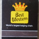 Vintage Matchbook Best Western I-44 Inn Sullivan Missouri Matches