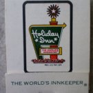 Vintage Matchbook Holiday Inn Sullivan White Missouri Matches