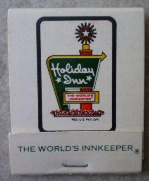 Vintage Matchbook Holiday Inn Sullivan White Missouri Matches