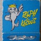 Vintage Matchbook Ralph Kacoos Restaurant Baton Rouge Louisiana Matches