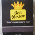 Vintage Matchbook Best Western La Piedra Inn Terrell Texas Matches