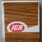 Vintage Matchbook IGA Matches