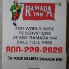 Vintage Matchbook Ramada Inn Matches