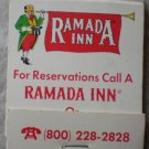 Vintage Matchbook Ramada Inn Welcome Home Matches