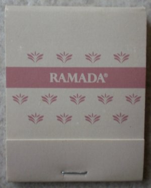 Vintage Matchbook Ramada Inn Gray Matches