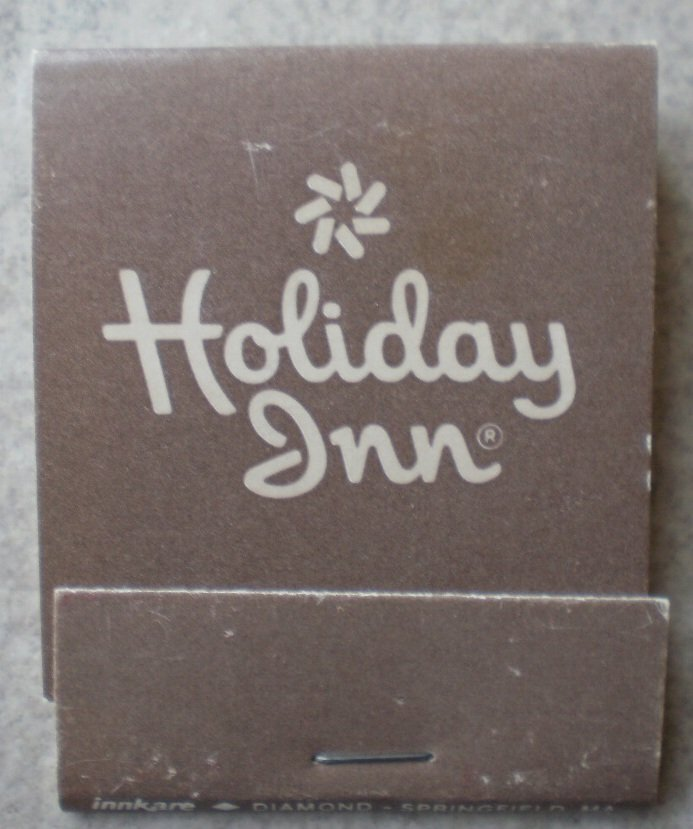 Vintage Matchbook Holiday Inn Gray Matches