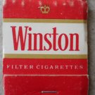 Vintage Matchbook Winston Filter Cigarettes Matches