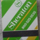 Vintage Matchbook Sheraton Hotel Green Matches