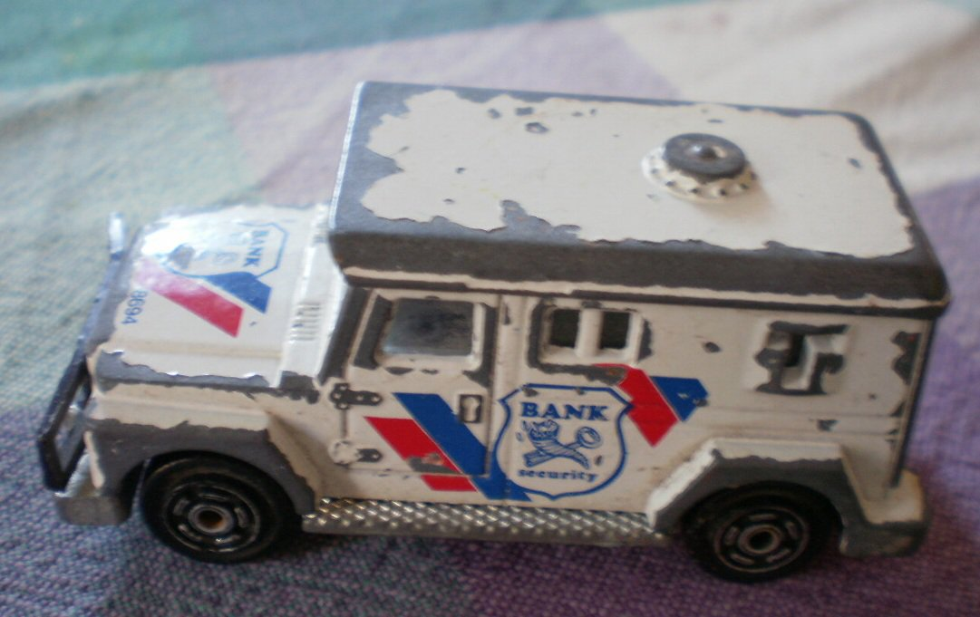 Majorette Bank Security Truck 8694 Armored 204 France