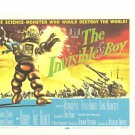 The Invisible Boy Forbidden Planet Lobby Card Repro 2006 Turner Entertainment Robot Promo