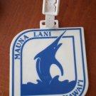 Golf Bag Tag Mauna Lani Hawaii Francis H I'i Brown Resort Kohala Coast
