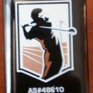 Golf Club Brush 2-sided Iron Woods AS 48610 Black Plastic Patent Pending